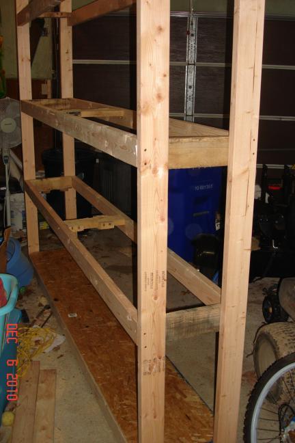 Building Shelves For The Garage Show Me The Honey